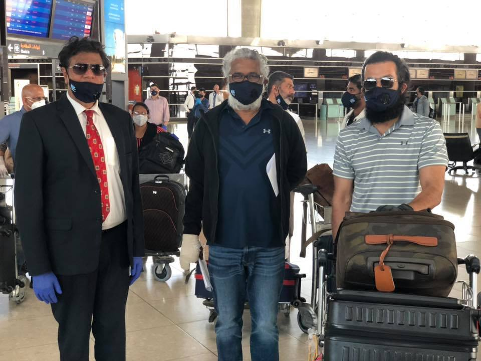 Stranded Malayalam film crew finally flown back home from Jordhan