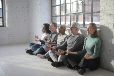 'Meditation' search peaks as people stay home