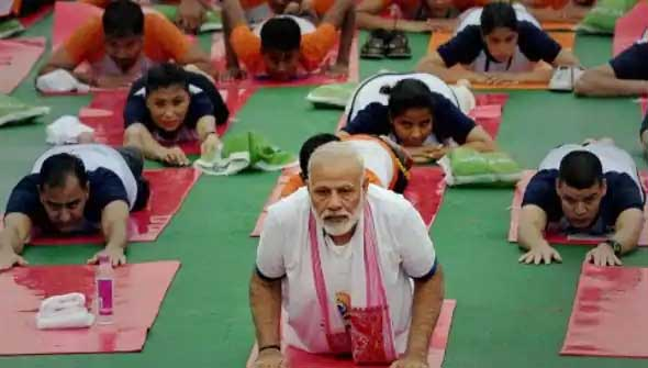 'Include Yoga in online learning curriculum'