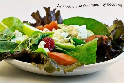 Ayurvedic diet for boosting immunity