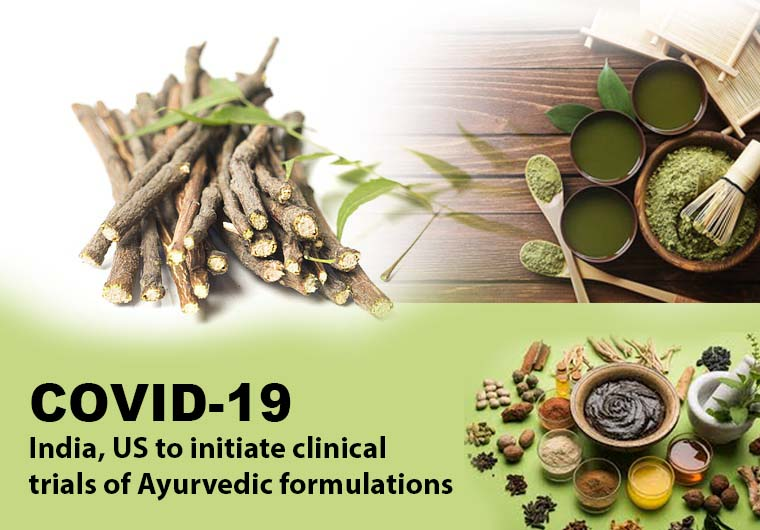 Covid-19: India, US to initiate clinical trials of Ayurvedic formulations