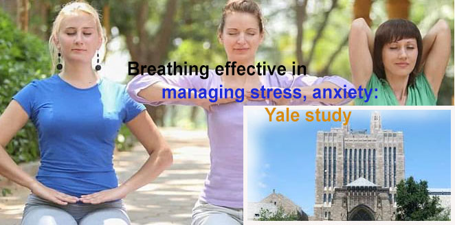 Breathing techniques effective in managing stress, anxiety: Yale study