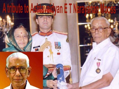 E T Narayanan Mooss, the man behind modernization of Ayurveda medicines