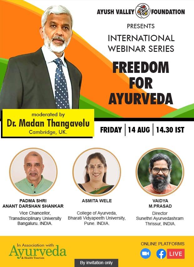 'Freedom for Ayurveda'