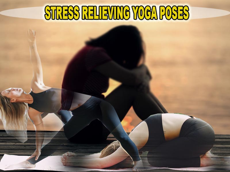 'Balasana' – the stress relieving Yoga pose