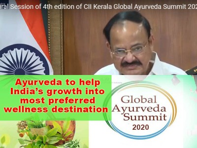 Ayurveda to aid India's growth into most preferred wellness destination: VP