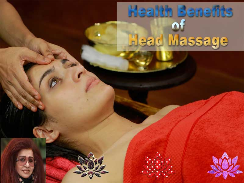 Health Benefits of Head Massage