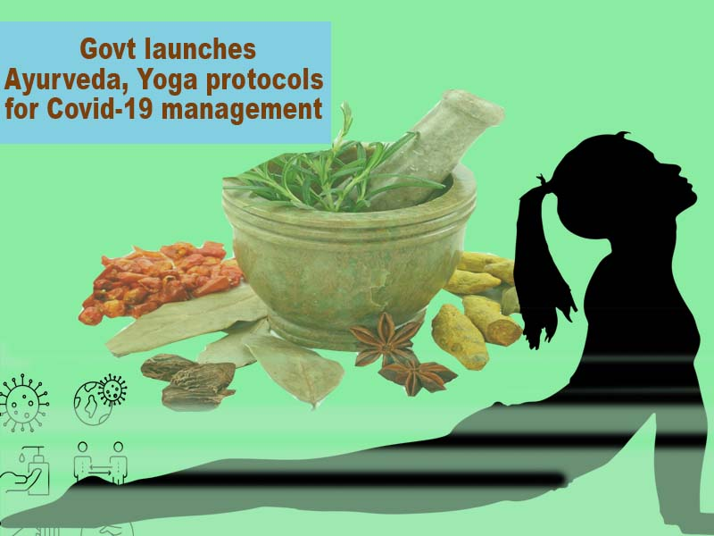 Govt launches Ayurveda, Yoga protocols for Covid-19 management