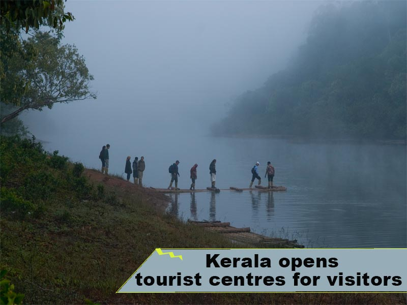 Kerala opens tourist centres for visitors
