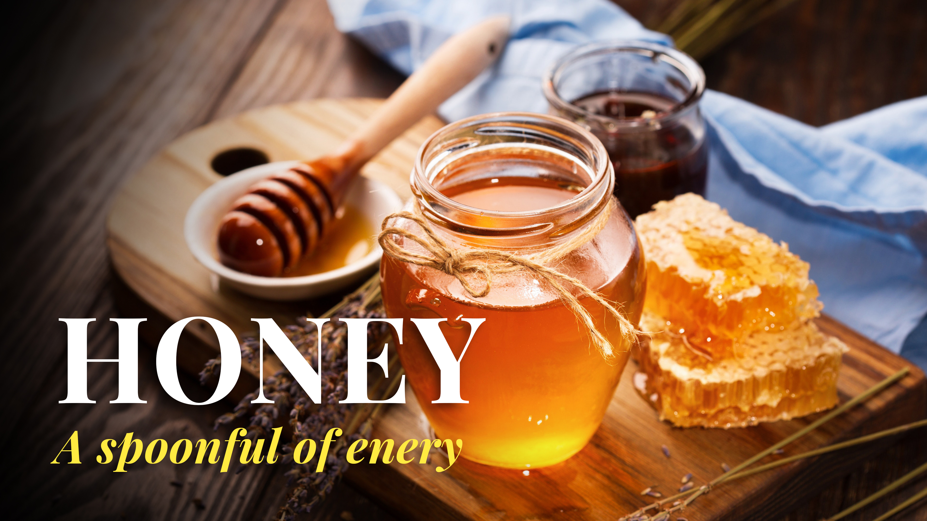 Honey: A spoonful of energy