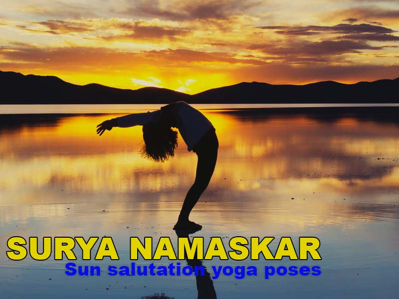 Surya Namaskar – the sun salutation Yoga poses