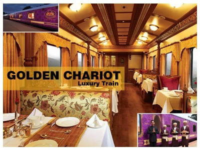 'Golden Chariot' to chug along South Indian tourist destinations