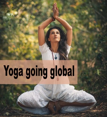 Yoga going global