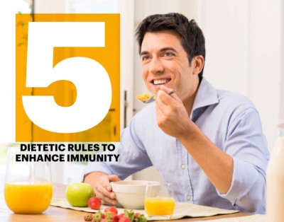 Five dietetic rules to enhance immunity