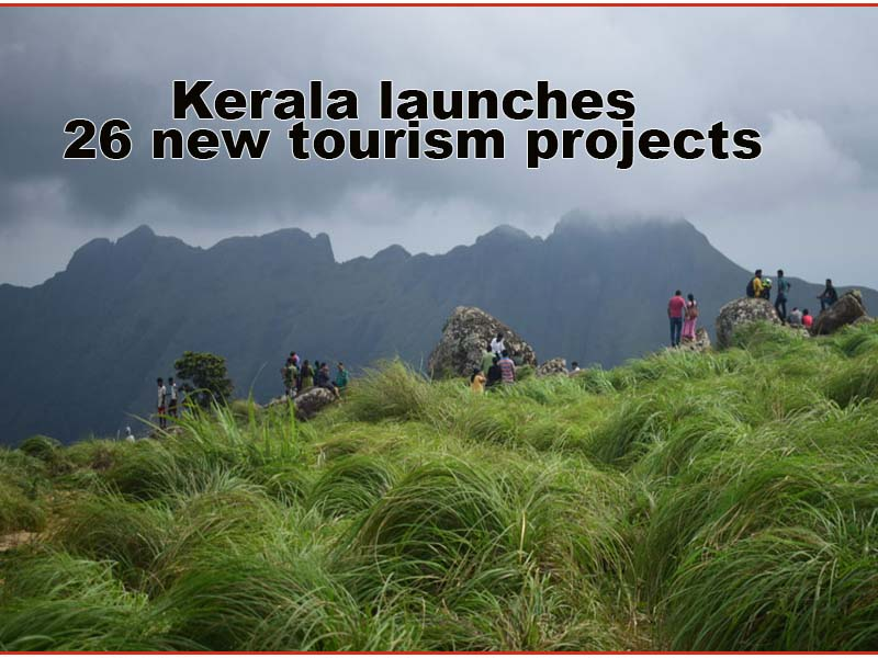 Kerala launches 26 new tourism projects