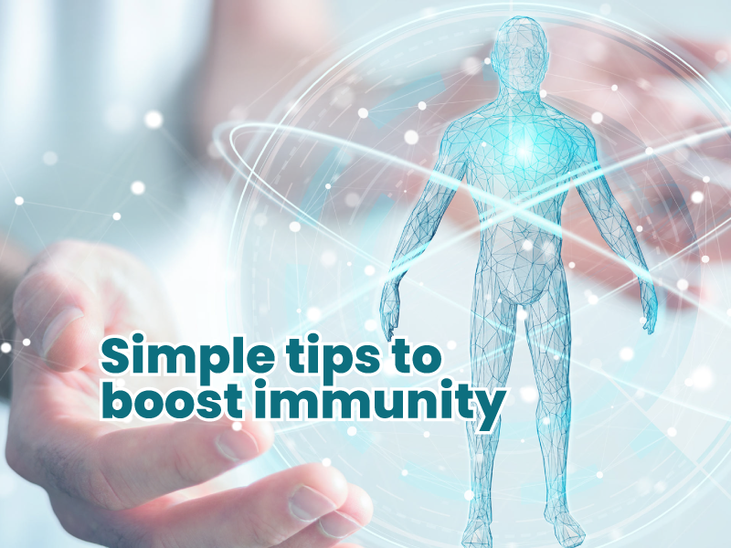Simple tips to boost immunity