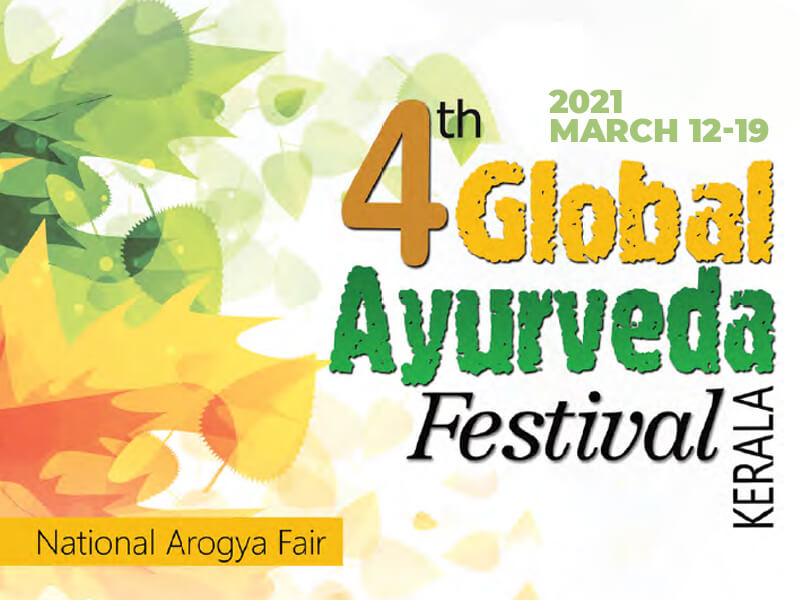 Fourth Global Ayurveda Festival from Mar 12 to 19