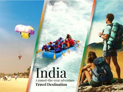 'India: a round-the-year adventure travel destination'
