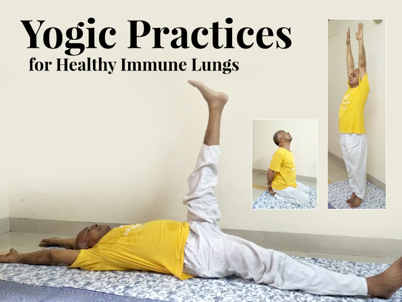Yogic Practices for Healthy Immune Lungs