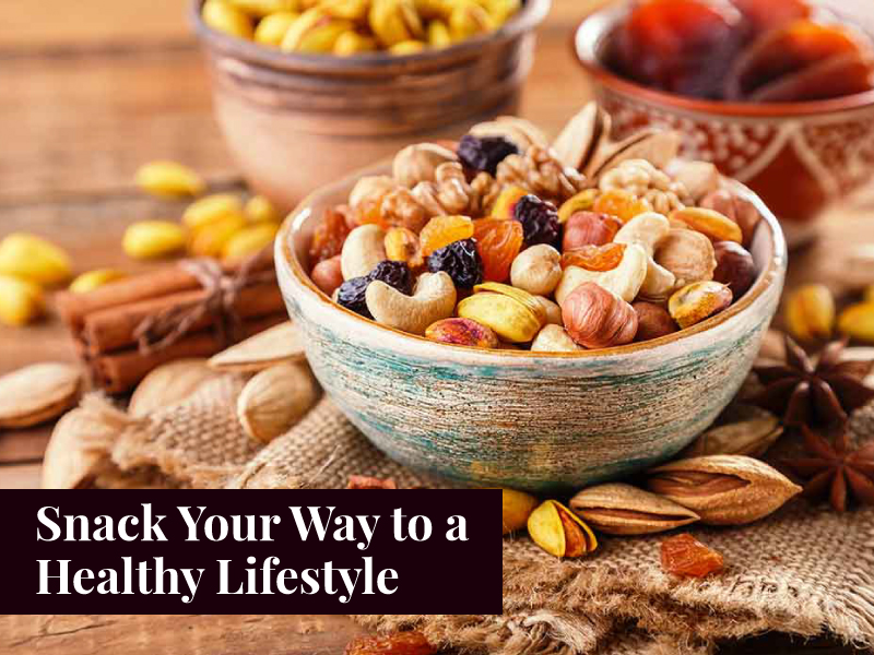Snack Your Way to a Healthy Lifestyle