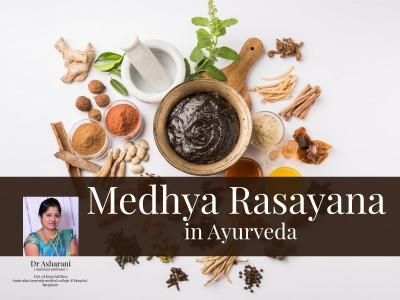 Medhya Rasayana in Ayurveda