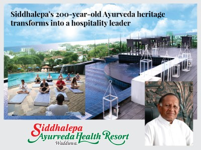 Siddhalepa's 200-year-old Ayurveda heritage transforms into a hospitality leader