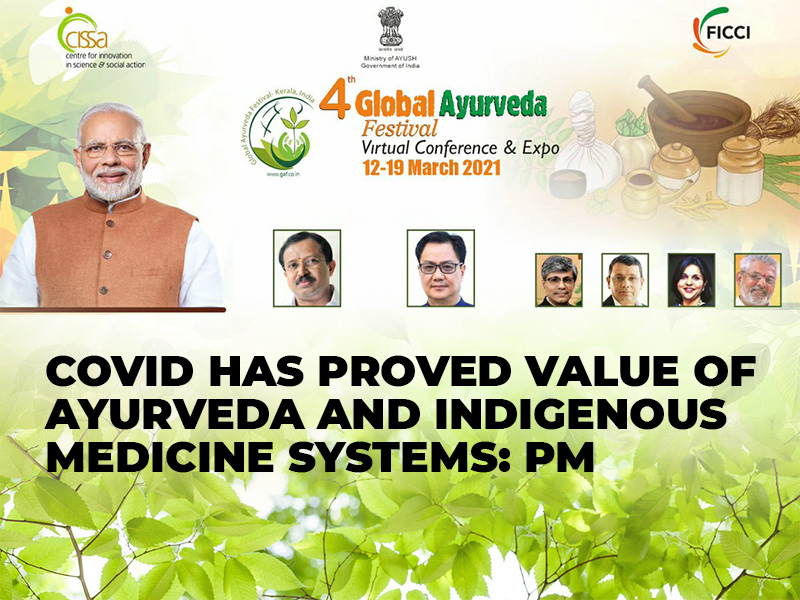 Covid has proved value of Ayurveda and indigenous medicine systems: PM