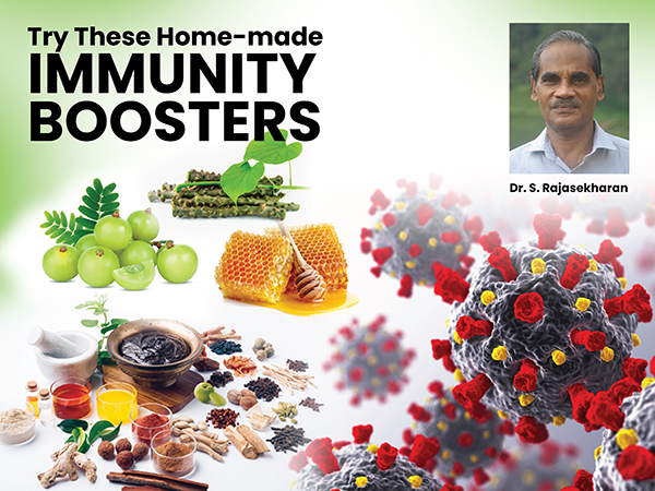 TRY THESE HOME-MADE IMMUNITY BOOSTERS
