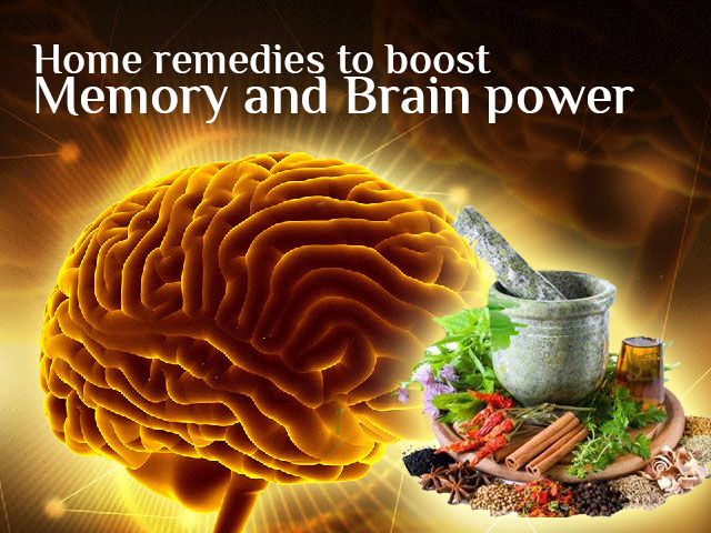 Home remedies to boost memory and brain power
