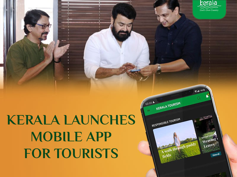KERALA LAUNCHES MOBILE APP FOR TOURISTS